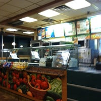 Photo taken at Subway by Matthew B. on 2/27/2012