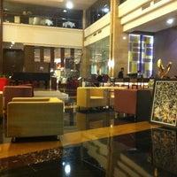 Photo taken at Gumaya Tower Hotel by Septa H. on 7/23/2011