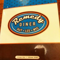 Photo taken at Remedy Diner by Kim D. on 2/1/2012