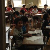 Photo taken at 浦賀小学校 by tajitajiko on 6/7/2012