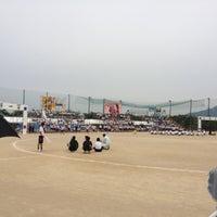 Photo taken at 宇美商業 by t.taka on 6/2/2012