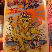 Photo taken at Golden Lion Cafe by Roger G. on 10/2/2011