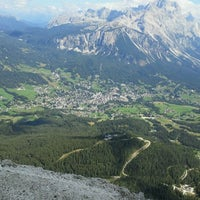Photo taken at Rifugio ra valles by Paola D. on 8/28/2011