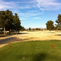 Photo taken at Desert Rose Golf Course by Darcy W. on 1/2/2012