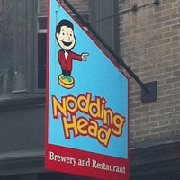 Photo taken at Nodding Head Brewery & Restaurant by David T. on 5/12/2011