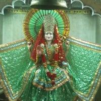 Photo taken at Sri hanuman temple by Hemanshu S. on 6/19/2012