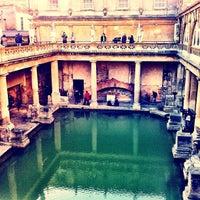 Photo taken at The Roman Baths by Michael P. on 11/27/2011