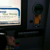 Photo taken at Fifth Third Bank & ATM by RICK R. on 12/15/2011