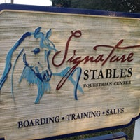 Photo taken at Signature Stables by Mac M. on 1/12/2012