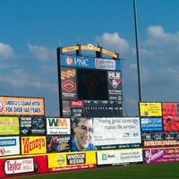Photo taken at Arm & Hammer Park by Richard T. on 7/27/2012