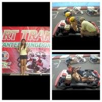 Photo taken at Kart Track by Giselle ann J. on 6/18/2012