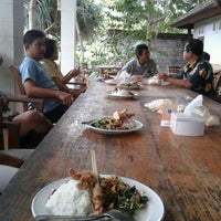 Photo taken at Warung Krishna by I Wayan Bayu A. on 8/25/2012