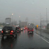 Photo taken at I-85 & Peachtree St NW by Hebrew H. on 7/3/2012