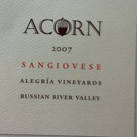 Photo taken at ACORN Winery by Matthew S. on 3/12/2011