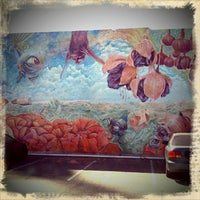 Photo taken at Mural District by MICHAEL C. on 8/19/2011