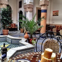 Photo taken at Riad Ahlam by Inna on 9/3/2012