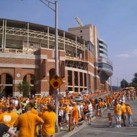 Photo taken at Neyland Stadium by Kelly G. on 9/3/2011