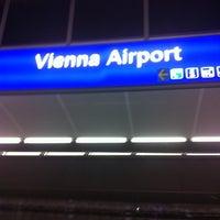 Photo taken at Vienna Airport Station by Jürgen B. on 12/30/2010