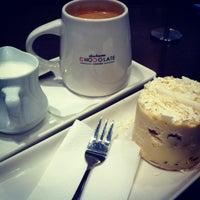 Photo taken at Theobroma Chocolate Lounge by 💟MissJen💟 on 5/1/2012