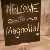 Photo taken at Magnolia Bakery by Laura H. on 10/9/2011