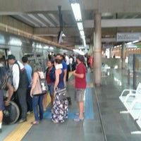 Photo taken at Estação Ceilândia Sul - METRÔ-DF by Fabão B. on 9/12/2012