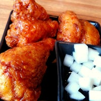 Photo taken at BonChon Chicken by Nithit J. on 8/19/2012