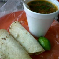 Photo taken at Tacos Charlie by Juan R. on 4/15/2012