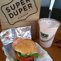Photo taken at Super Duper Burgers by Christina H. on 4/30/2012
