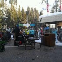Photo taken at Snowbird Center Plaza by Adam on 2/10/2012