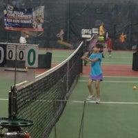 Photo taken at Princeton Tennis Program by Andy S. on 7/14/2012