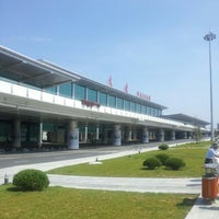 Photo taken at Dalian Zhoushuizi International Airport (DLC) by Yukihisa T. on 9/4/2012