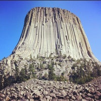 Photo taken at Devils Tower National Monument by matt g. on 7/26/2012