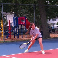 Photo taken at Beaver Dam Park Tennis Courts by Michael L. on 8/7/2012
