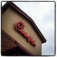 Photo taken at Chick-fil-A The Collection Forsyth by Dan S. on 2/29/2012