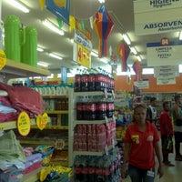 Photo taken at Arco Iris Supermercado by Energias R. on 6/9/2012