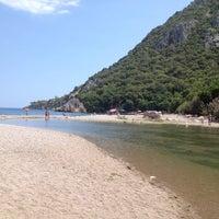 Photo taken at Olympos Plajı by BeHiye . on 8/10/2012