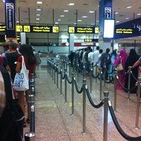 7/27/2012 tarihinde Iri V.ziyaretçi tarafından Terminal 2'de çekilen fotoğraf