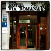 Photo taken at Hotel Husa Vía Romana by Bart T. on 5/20/2012