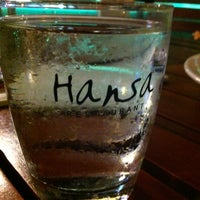 Photo taken at Hansa Restaurant by RevoLt on 7/27/2012
