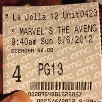 Photo taken at AMC La Jolla 12 by Sheryl S. on 5/6/2012