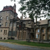 Photo taken at Fonthill Castle by Andrew D. on 7/15/2012