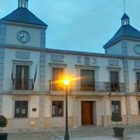Photo taken at Ayuntamiento De Colmenar De Arroyo by Calixto G. on 3/23/2012