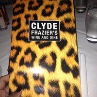 Photo taken at Clyde Frazier's Wine and Dine by Monica R. on 8/5/2012
