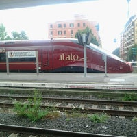 Photo taken at Roma Ostiense Railway Station (IRR) by Suriel S. on 7/23/2012