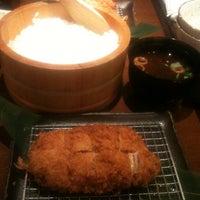 Photo taken at キムカツ 赤坂店 by Kenta A. on 7/3/2012