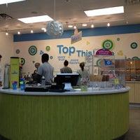 Photo taken at 32 Degrees: A Yogurt Bar by April B. on 9/11/2012