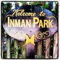 Foto tomada en Inman Park por GR8socialmedia el 4/28/2012