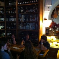 Photo taken at L'Angolo Divino by Justin D. on 5/11/2012