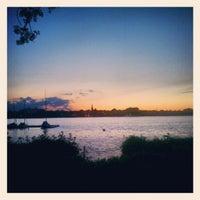 Das Foto wurde bei Alster Jogging von Emrecan D. am 5/27/2012 aufgenommen