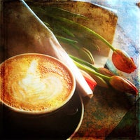 Photo taken at Remedy Coffee by Paula W. on 4/8/2012